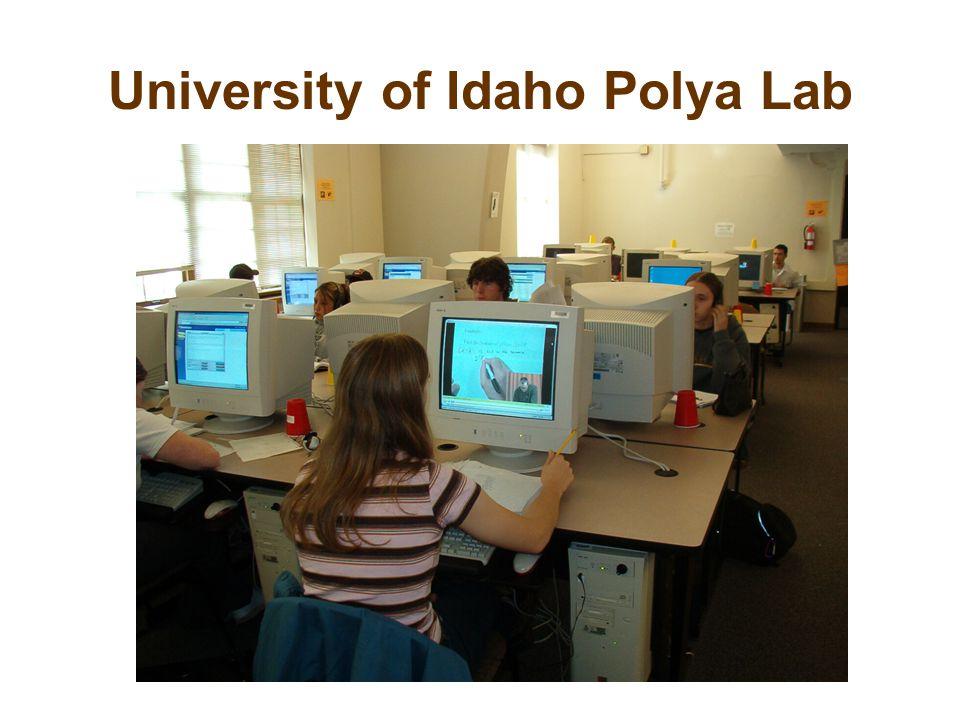 University of Idaho Polya Lab