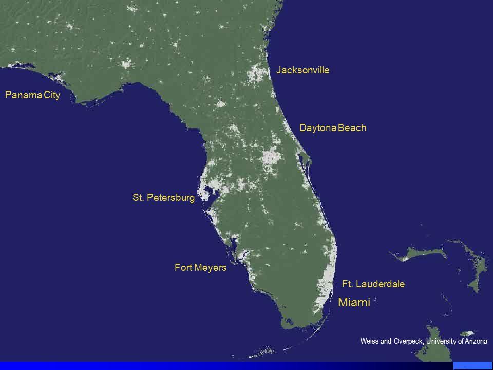 Ft. Lauderdale Daytona Beach Jacksonville St.