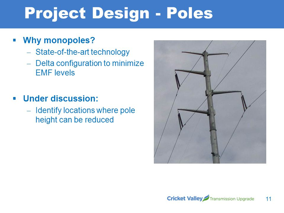 Project Design - Poles  Why monopoles.