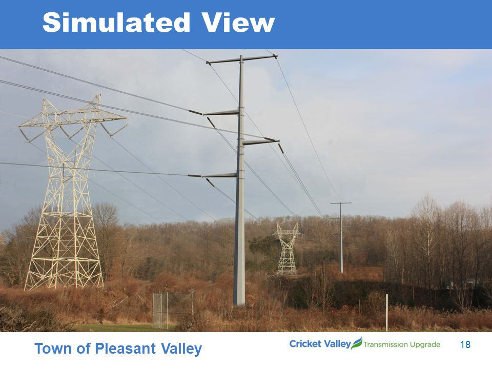 18 Town of Pleasant Valley Simulated View