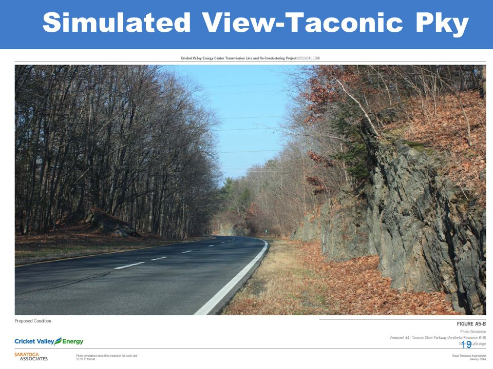 Simulated View-Taconic Pky 19