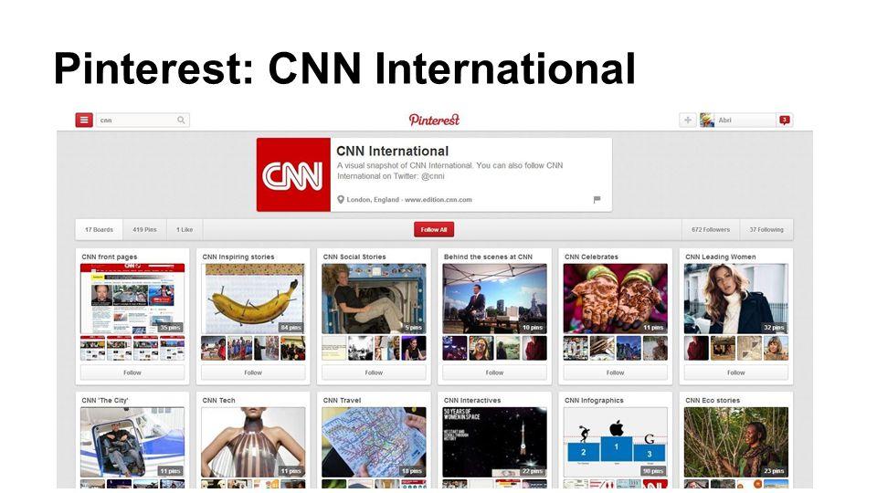 Pinterest: CNN International