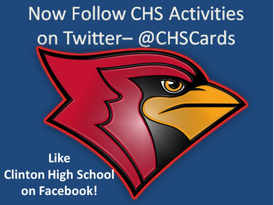 Like Clinton High School on Facebook!