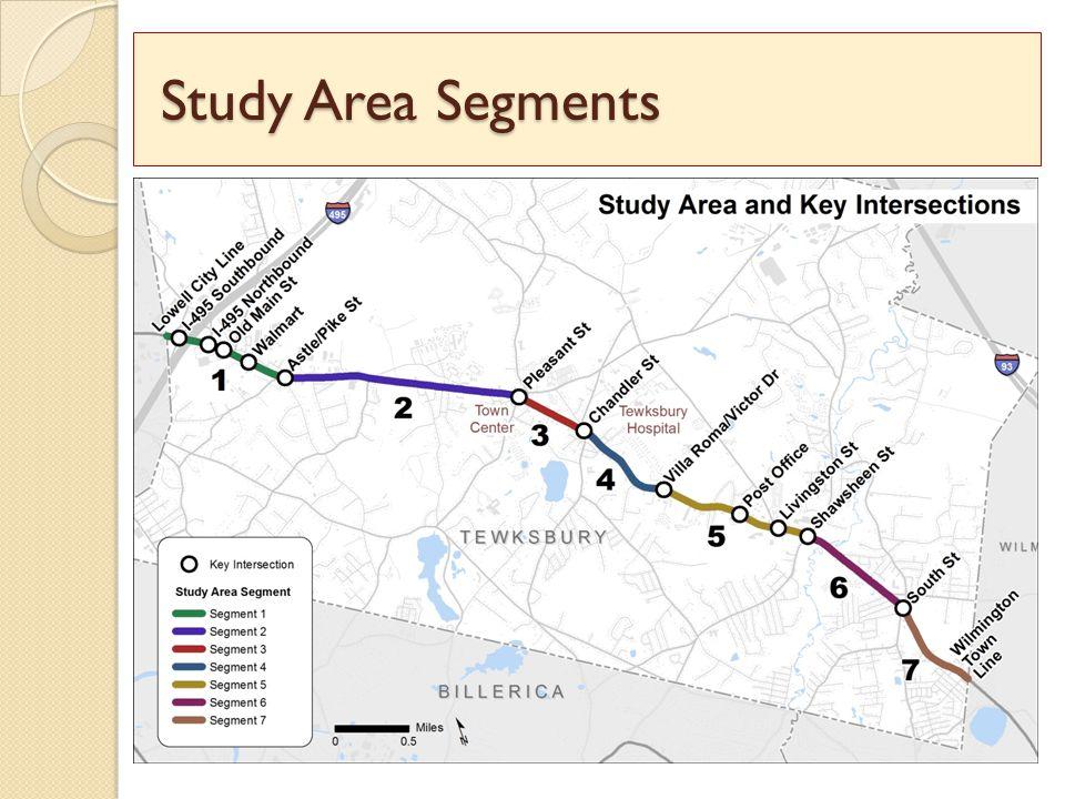 Study Area Segments Study Area Segments