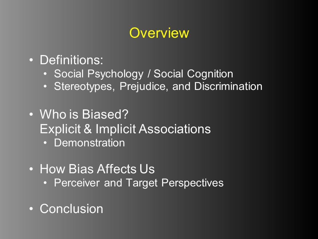 DEFINING SOCIAL PSYCHOLOGY Definitions
