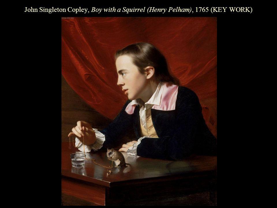 John Singleton Copley, Boy with a Squirrel (Henry Pelham), 1765 (KEY WORK)