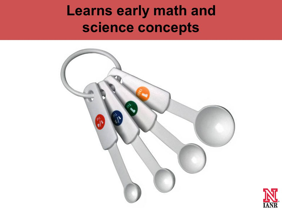 Learns early math and science concepts