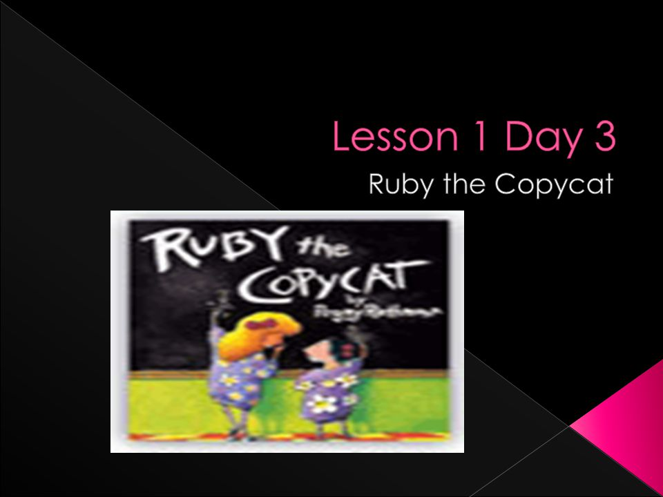  Look on page 22.This is the first time Ruby enters her new classroom.