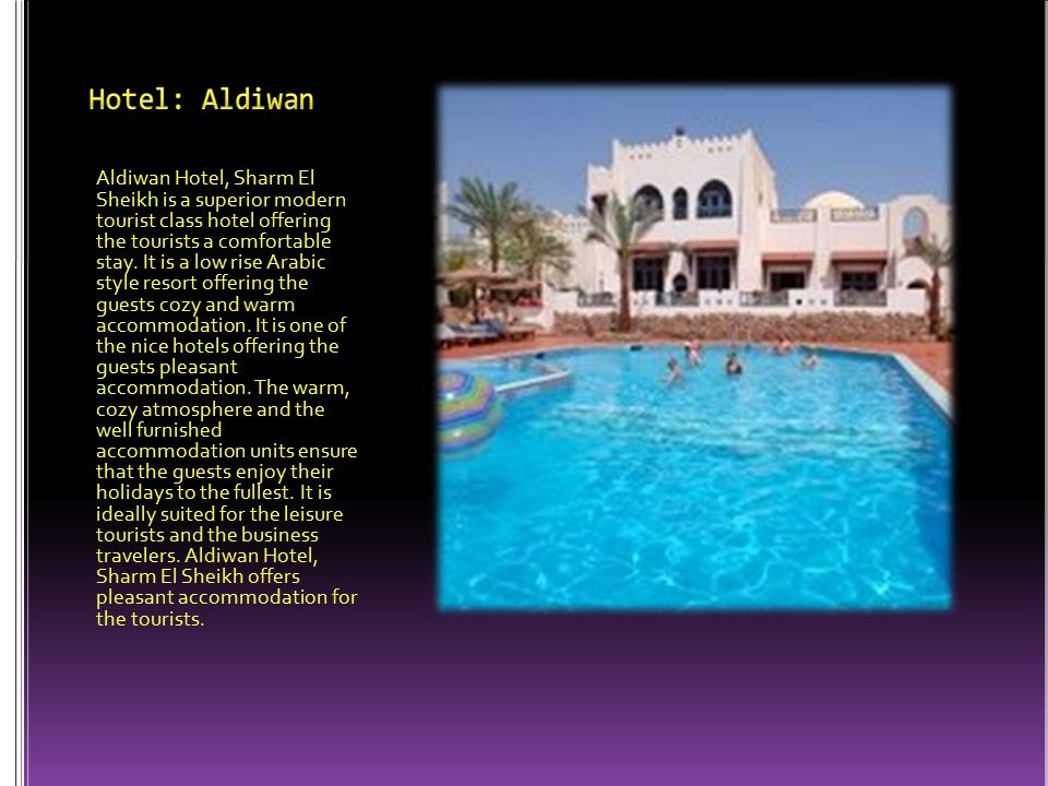 Tropitel Dahab Oasis is a contemporary style hotel that offers the guests a wonderful stay at one of the most picturesque area of Dahab in South Sinai, Egypt.