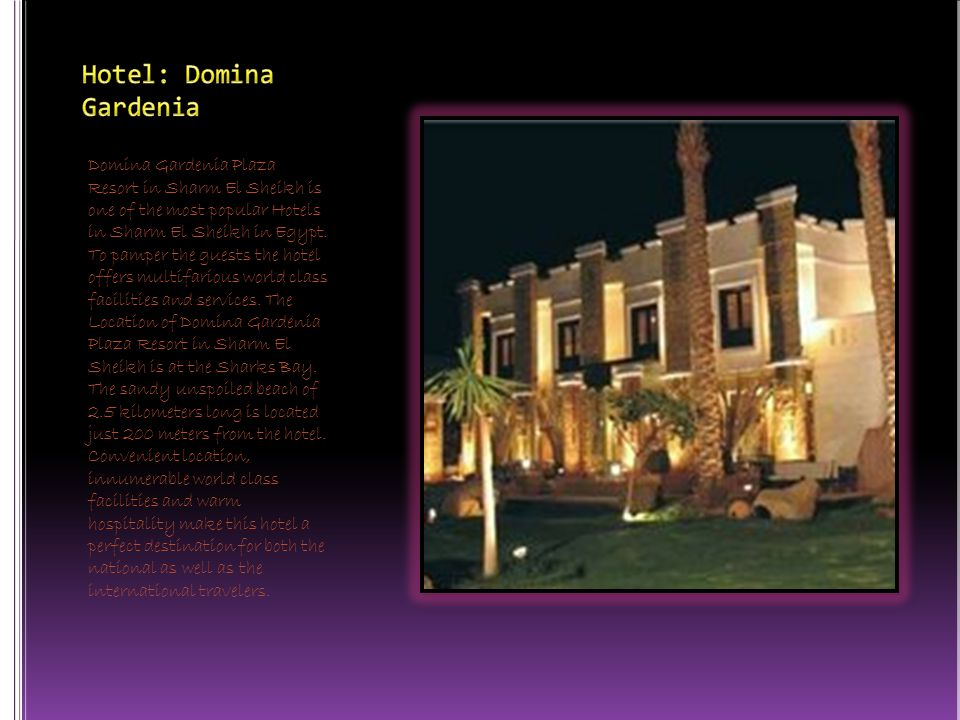 Domina Gardenia Plaza Resort in Sharm El Sheikh is one of the most popular Hotels in Sharm El Sheikh in Egypt.