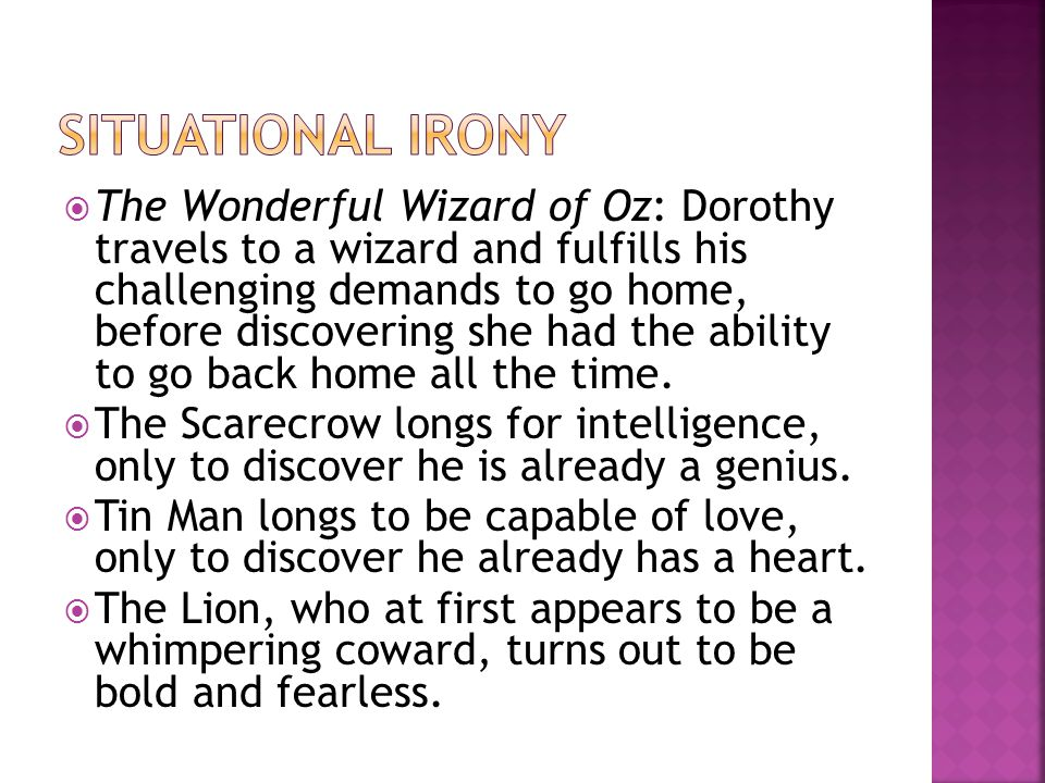  The Wonderful Wizard of Oz: Dorothy travels to a wizard and fulfills his challenging demands to go home, before discovering she had the ability to g