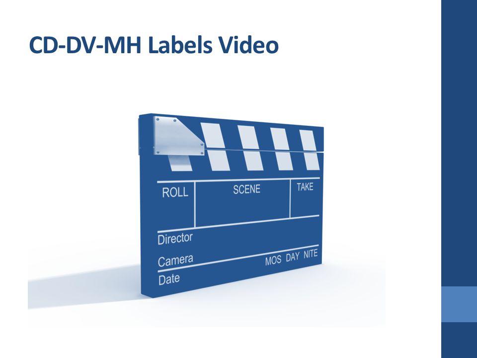 CD-DV-MH Labels Video