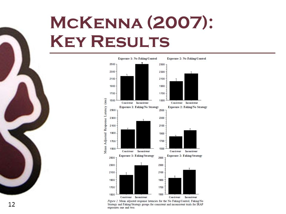 12 McKenna (2007): Key Results