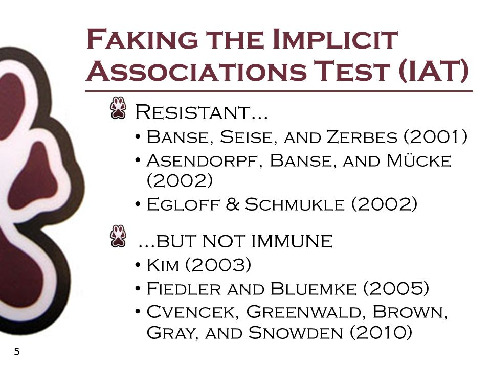 16 Design Differences: Stimulus Pairings Stimulus differences Idiographic sample stimuli Evaluative target samples Response key stimuli