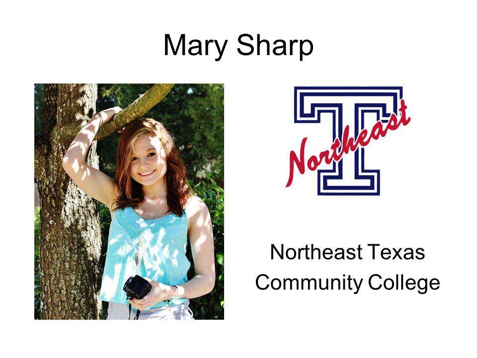 Mary Sharp Northeast Texas Community College