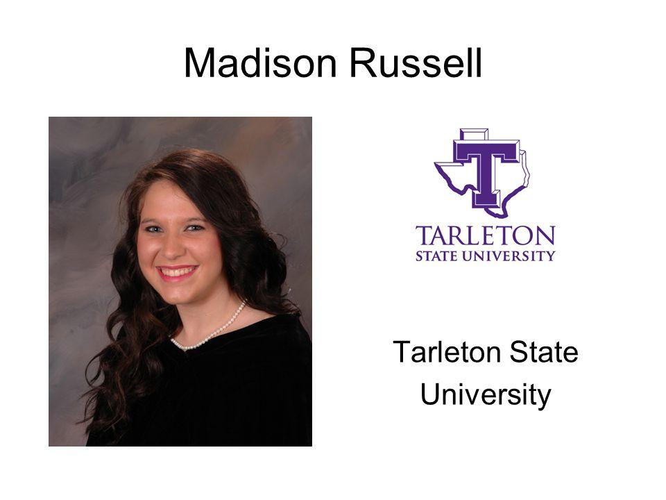 Madison Russell Tarleton State University