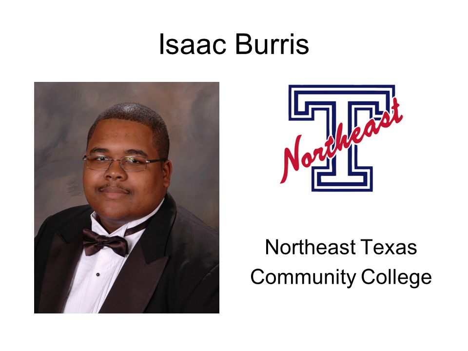 Isaac Burris Northeast Texas Community College