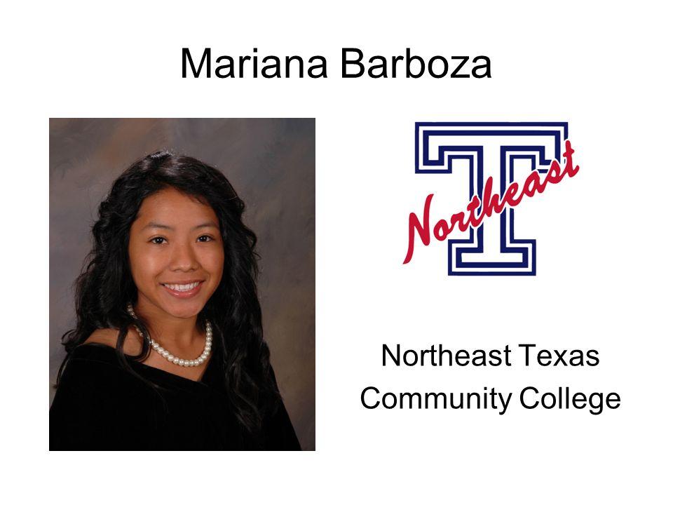 Mariana Barboza Northeast Texas Community College