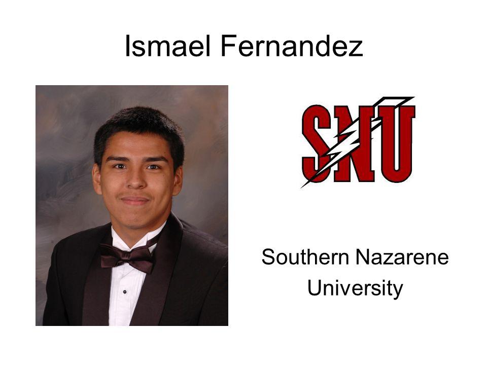 Ismael Fernandez Southern Nazarene University