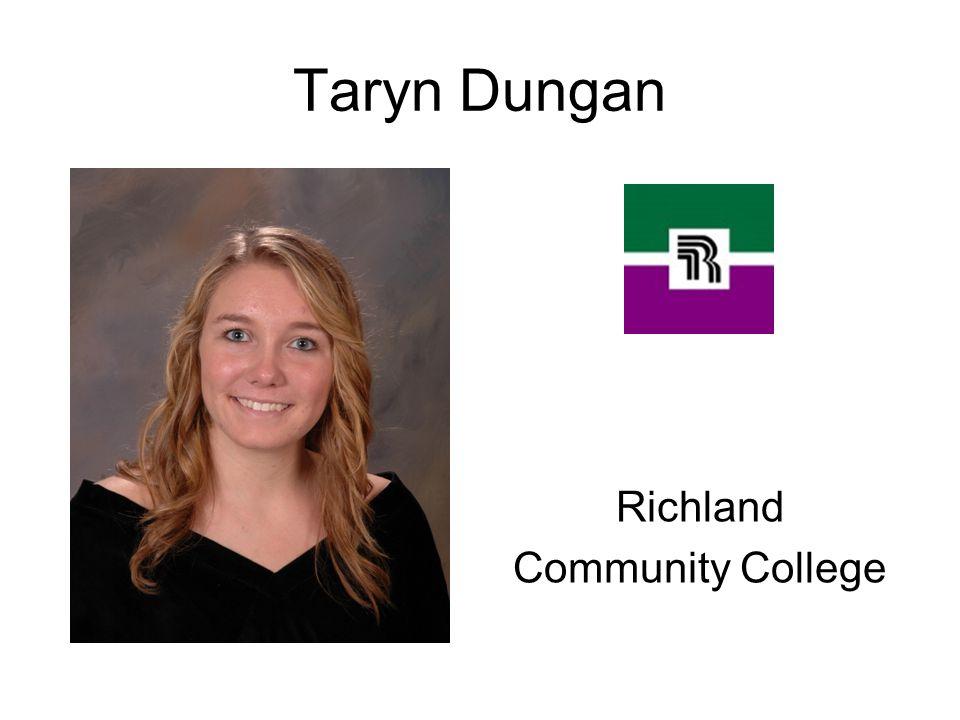 Taryn Dungan Richland Community College