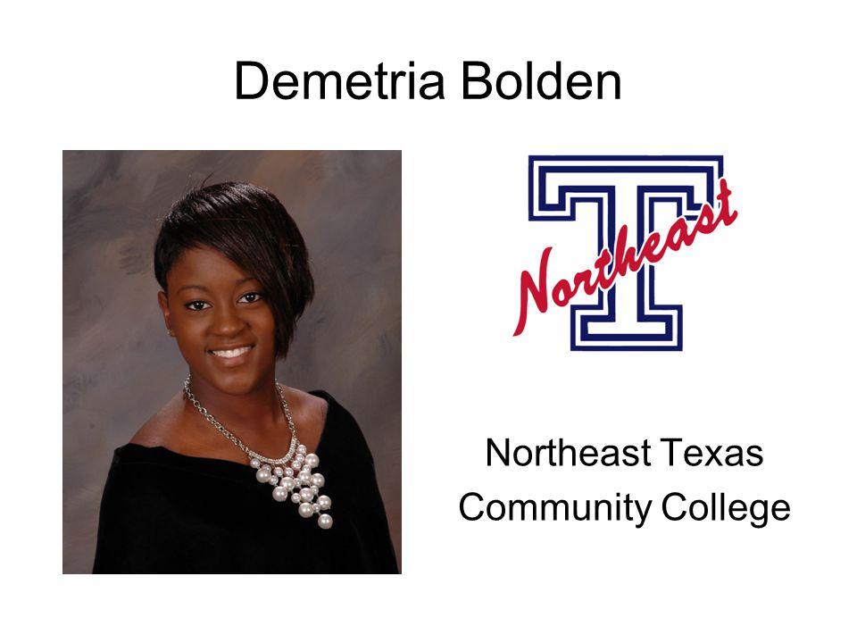 Demetria Bolden Northeast Texas Community College