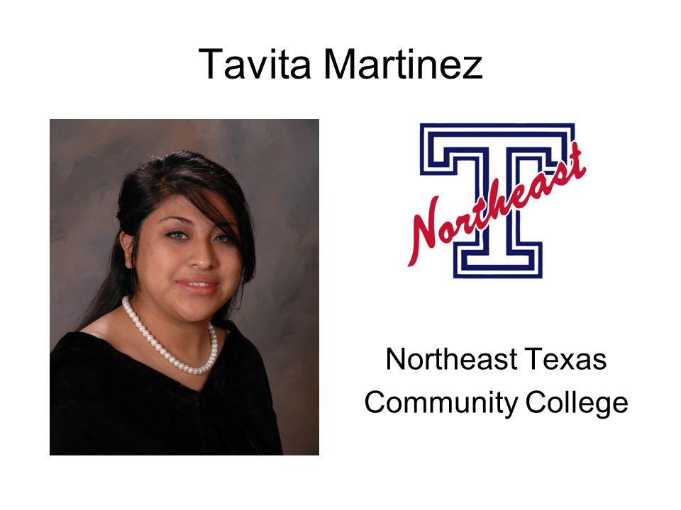 Tavita Martinez Northeast Texas Community College