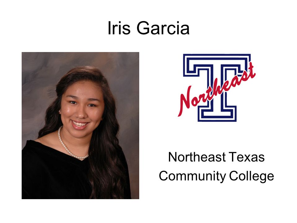 Iris Garcia Northeast Texas Community College