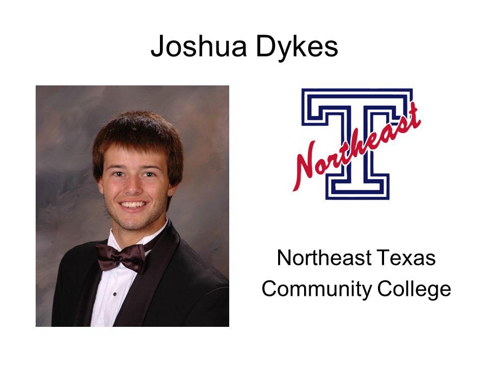 Joshua Dykes Northeast Texas Community College
