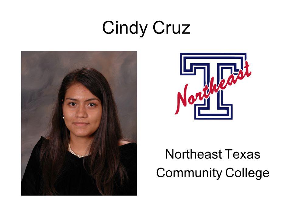Cindy Cruz Northeast Texas Community College
