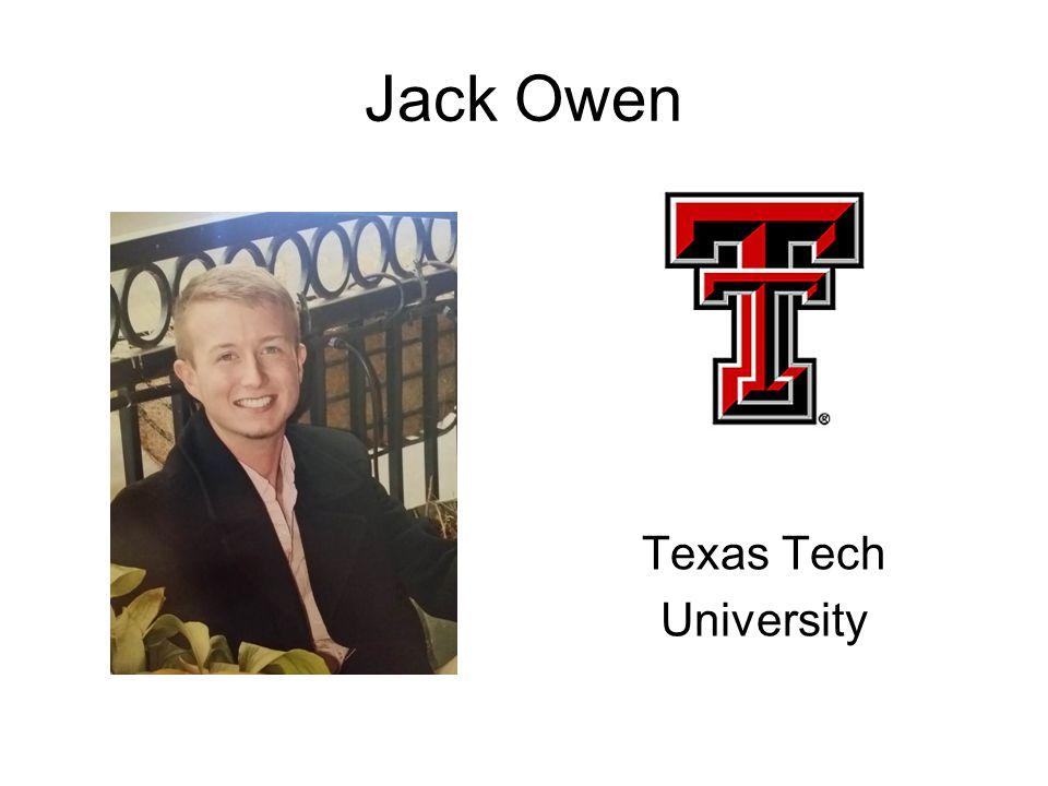 Jack Owen Texas Tech University
