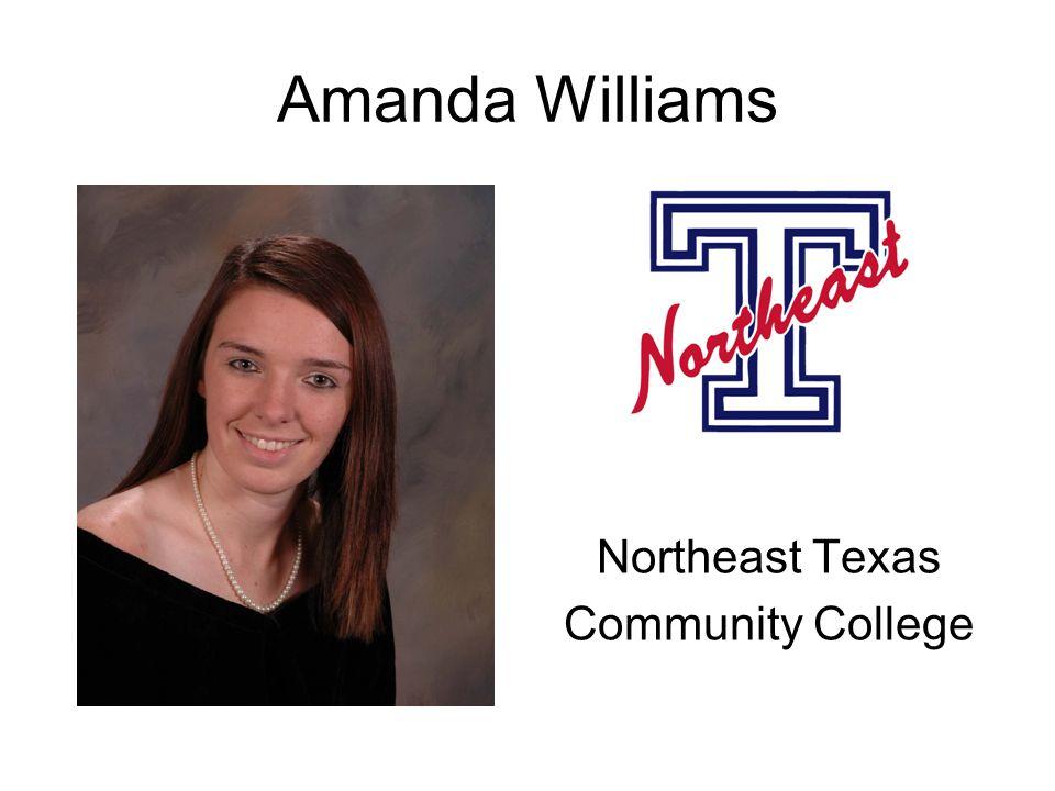 Amanda Williams Northeast Texas Community College