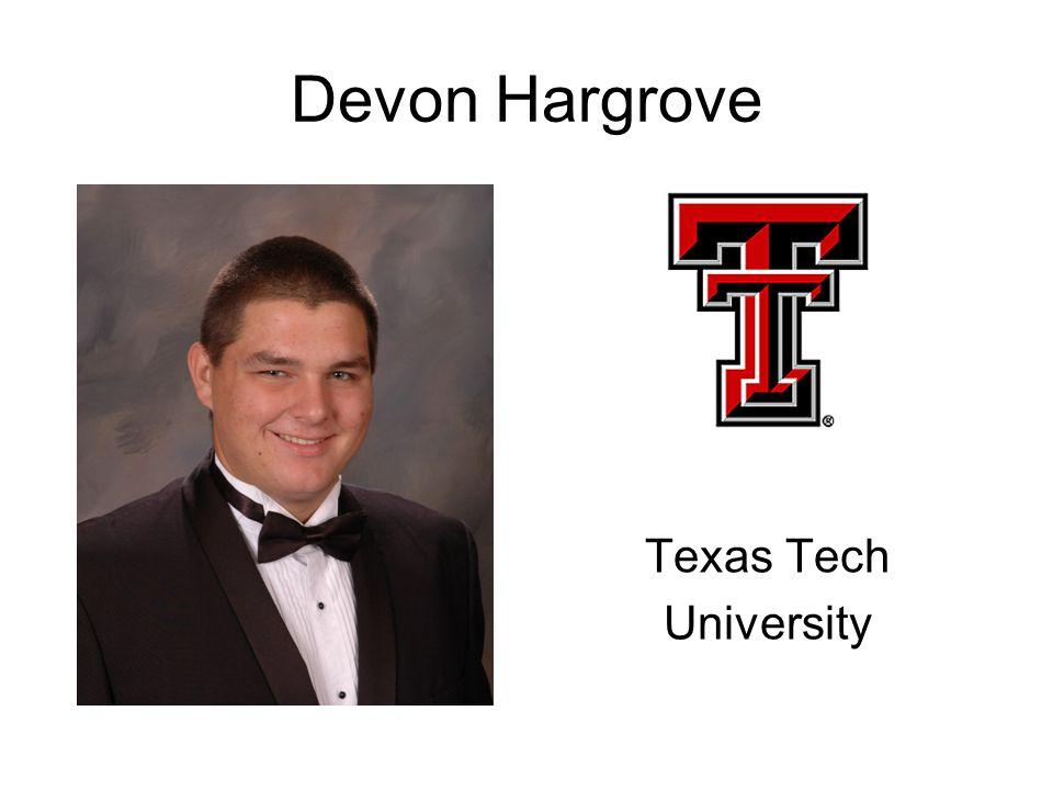 Devon Hargrove Texas Tech University