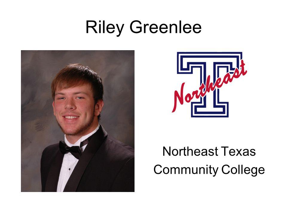 Riley Greenlee Northeast Texas Community College