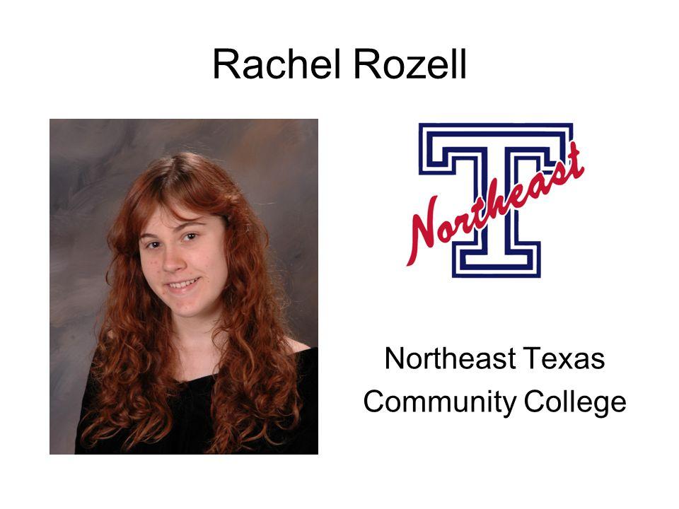 Rachel Rozell Northeast Texas Community College