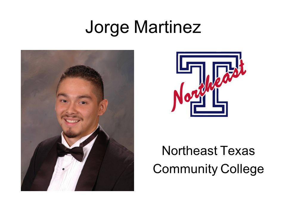 Jorge Martinez Northeast Texas Community College