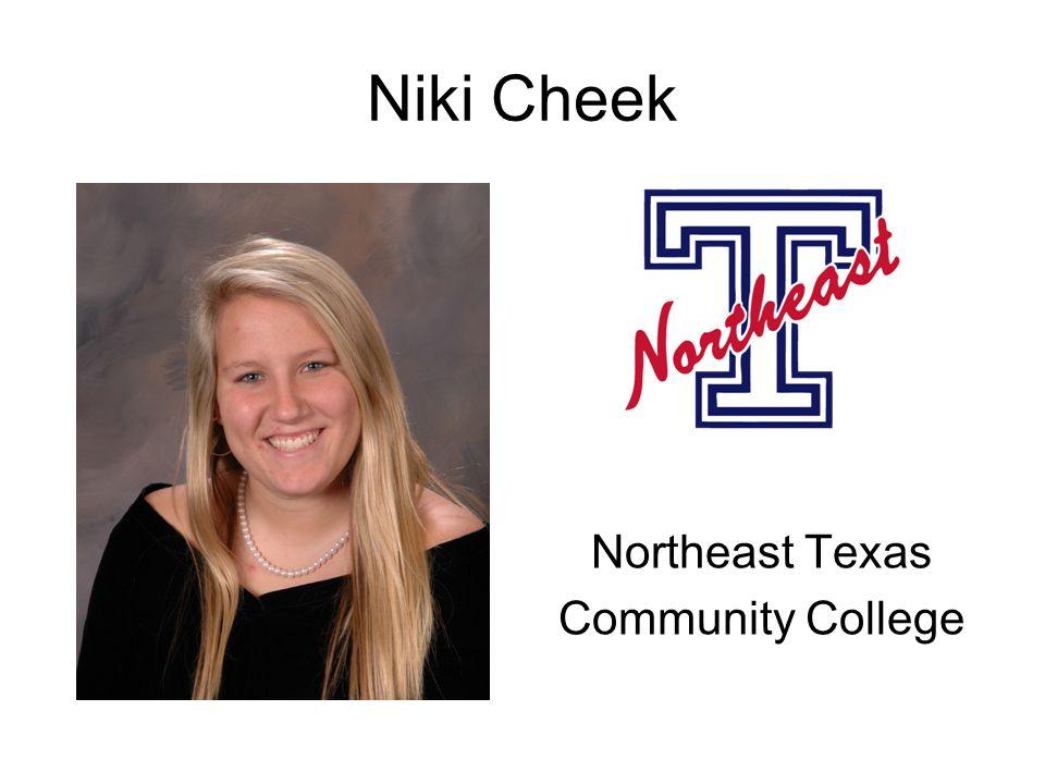 Niki Cheek Northeast Texas Community College