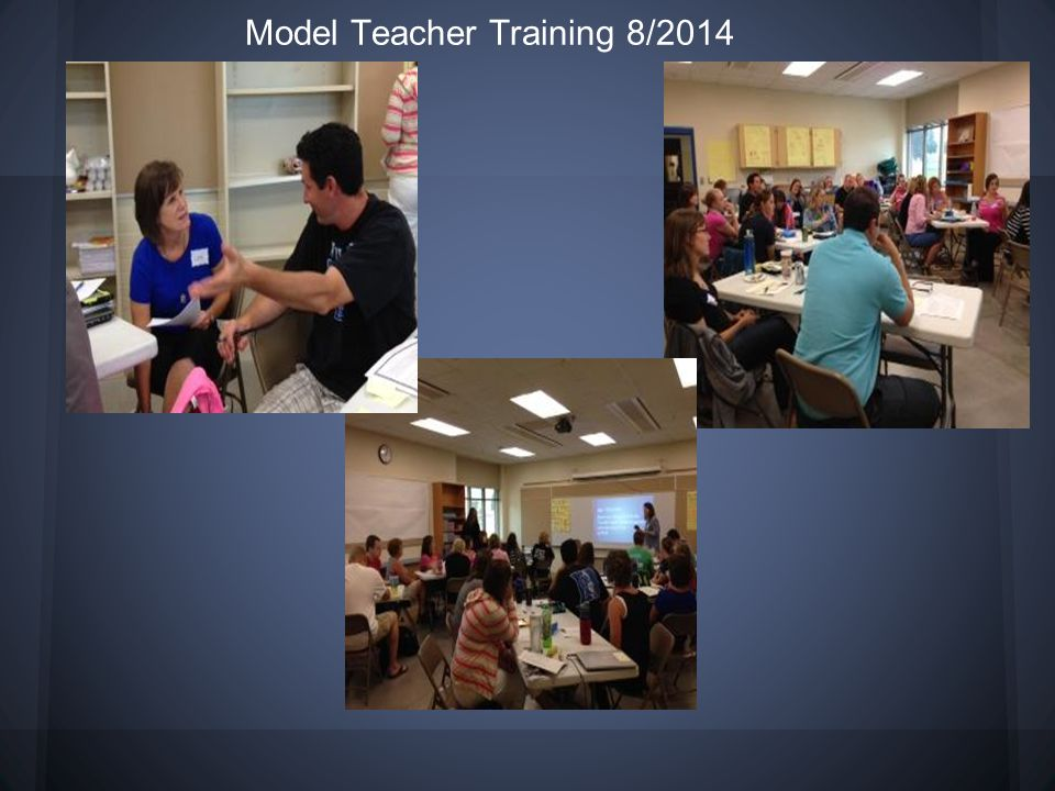 Model Teacher Training 8/2014