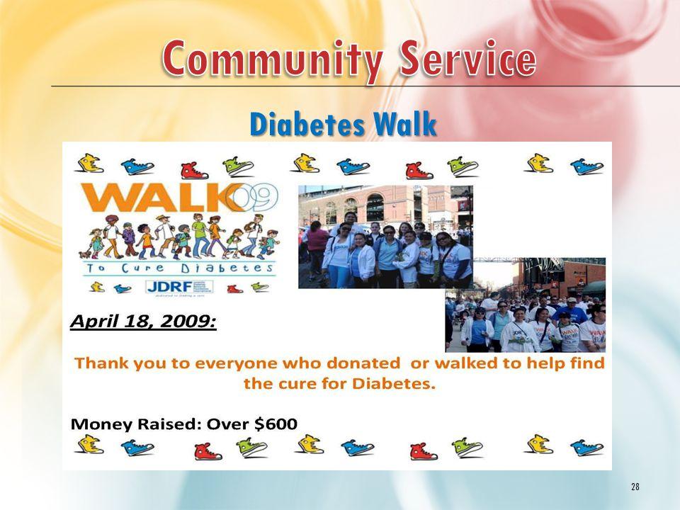 28 Diabetes Walk