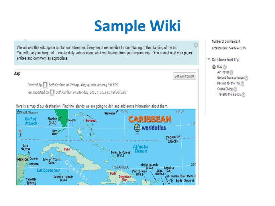 Sample Wiki