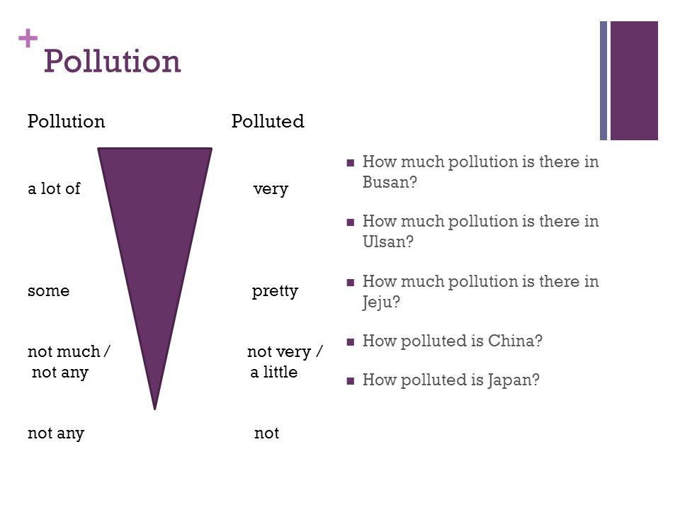 + Pollution How much pollution is there in Busan. How much pollution is there in Ulsan.
