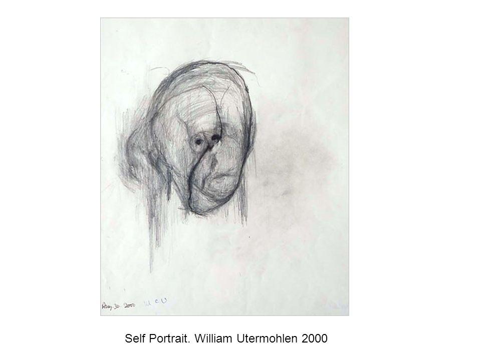 Self Portrait. William Utermohlen 2000