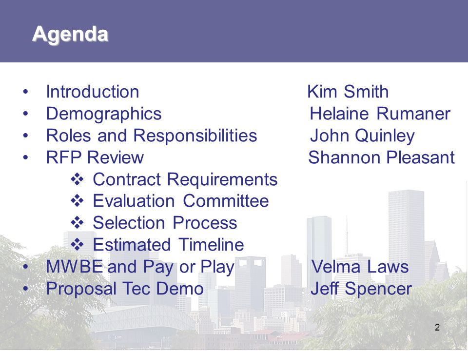 MWBE Participation and Pay or Play Velma Laws MWBE Participation and the Pay or Play Program 13
