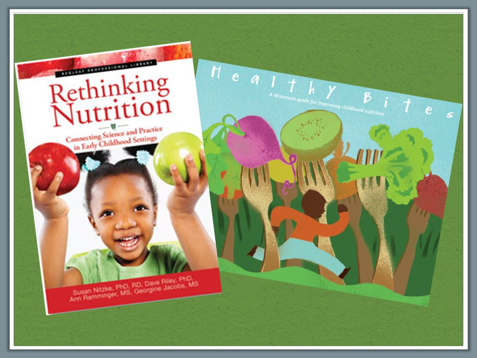 What would an early care and education center that promoted poor nutrition and unhealthy attitudes toward food look like?