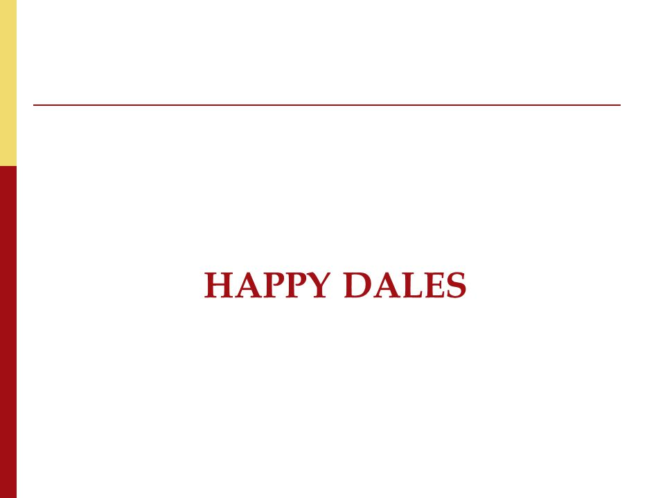 HAPPY DALES