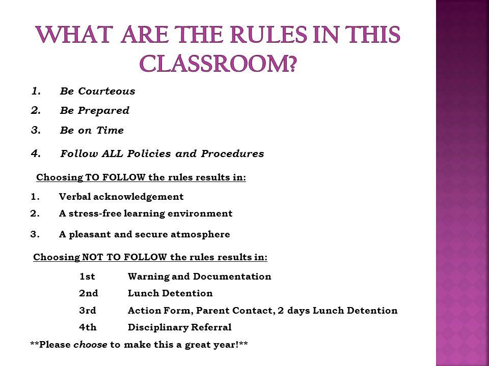 Guidelines & Procedures