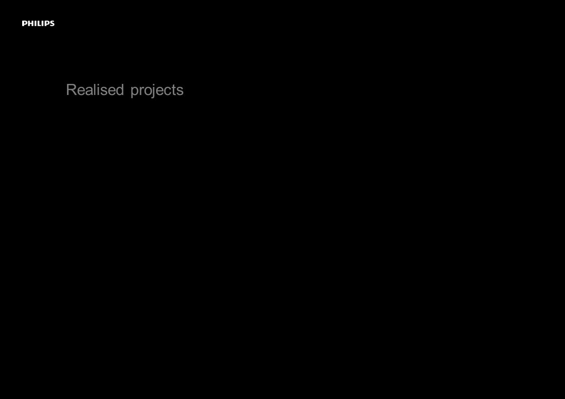 Realised projects