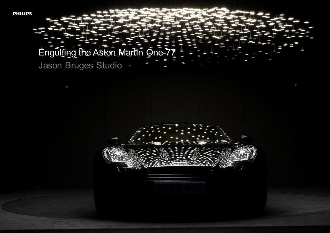 Engulfing the Aston Martin One-77 Jason Bruges Studio