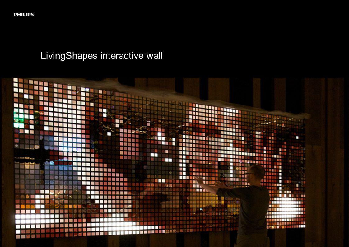 LivingShapes interactive wall