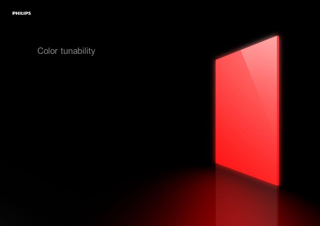 Color tunability