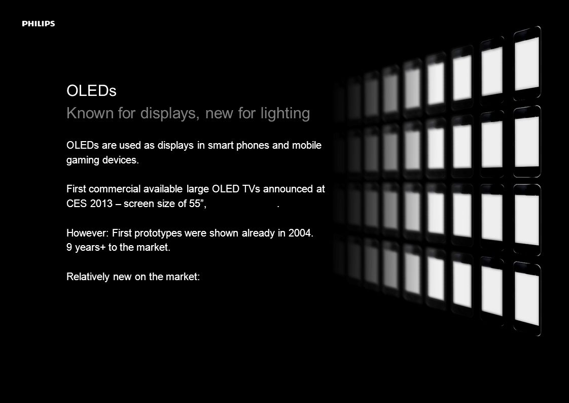 OLEDs Why are OLEDs a revolution to lighting.